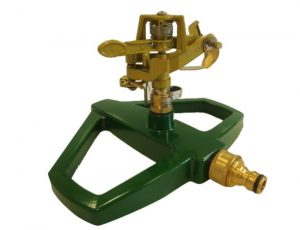 Greenkey Metal Base Pulsating Sprinkler for lawns or gardens