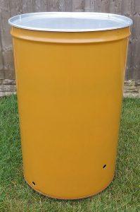 Garden Incinerator Yellow Bin