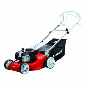 Einhell GC-PM 46/1 S B&S Self Propelled Petrol Lawnmower with a Briggs and Stratton Engine - Red