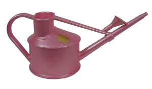 HAWS V127SK Indoor Plastic Watering Can, Pink Mini Watering Can