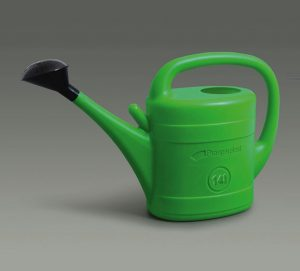 14L Green Plastic Watering Can w/ Black Rose Head For Veg Patches & Large Plants Prosperplast watering can review.