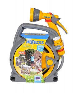 Hozelock Pico Reel Compact 10m Hose Perfect for patios, balconies & small garden spaces with imited storeage capability.